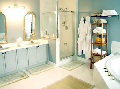 מקלחון מעוצב באמבטיה