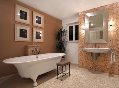 אמבטיה מעוצבת